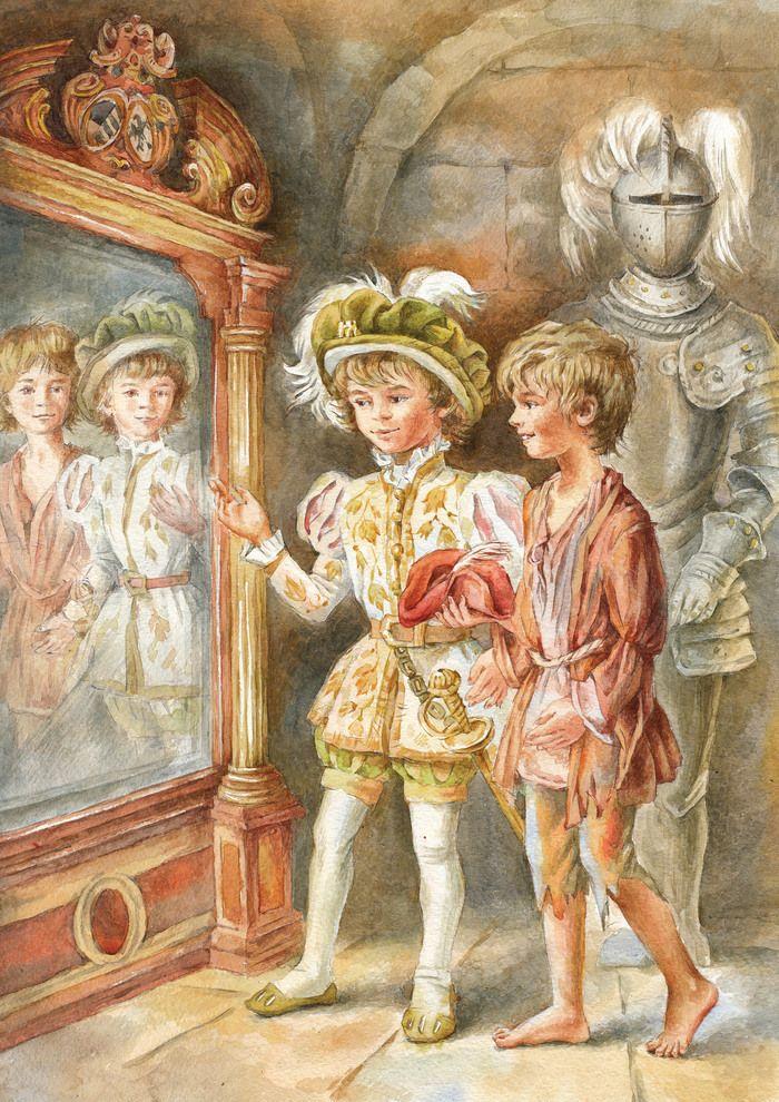 Принц и нищий марк твен с картинками