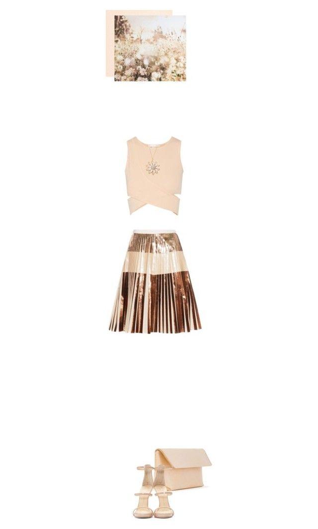 """Spring: Mini Skirt"" by rasaj ❤ liked on Polyvore featuring Proenza Schouler, Jonathan Simkhai, Iala Díez, Giuseppe Zanotti, Graham & Brown and Mixit"