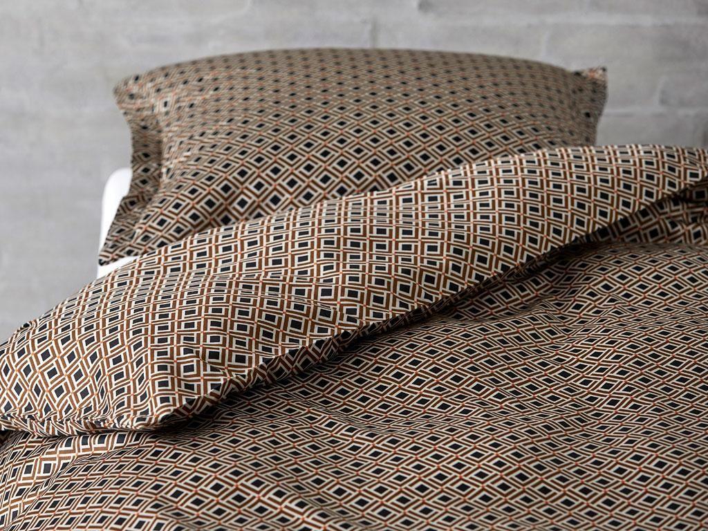 Södahl Checkered Bed 140 x 220 cm Black