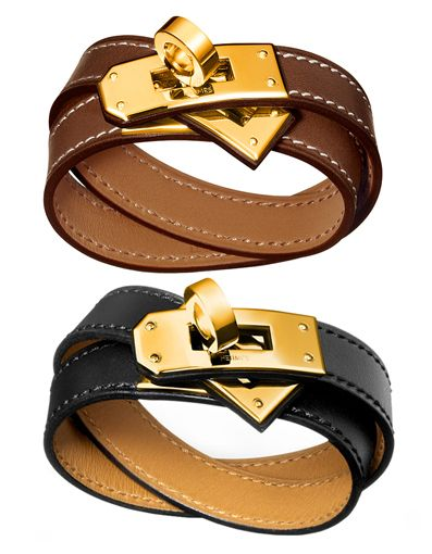 d6b62fd23612 Hermès Kelly Double Tour Bracelet In Gold - Fell in love even before I knew  it was Hermes. le sigh