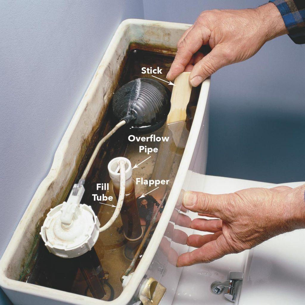 How To Fix A Running Toilet Toilet Repair Home Repairs Repair
