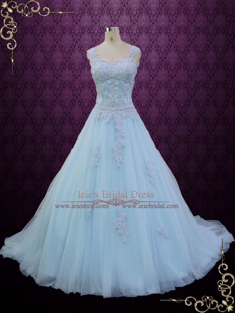 Blue cinderella style ball gown wedding dress seattle for Robes de mariage en consignation seattle