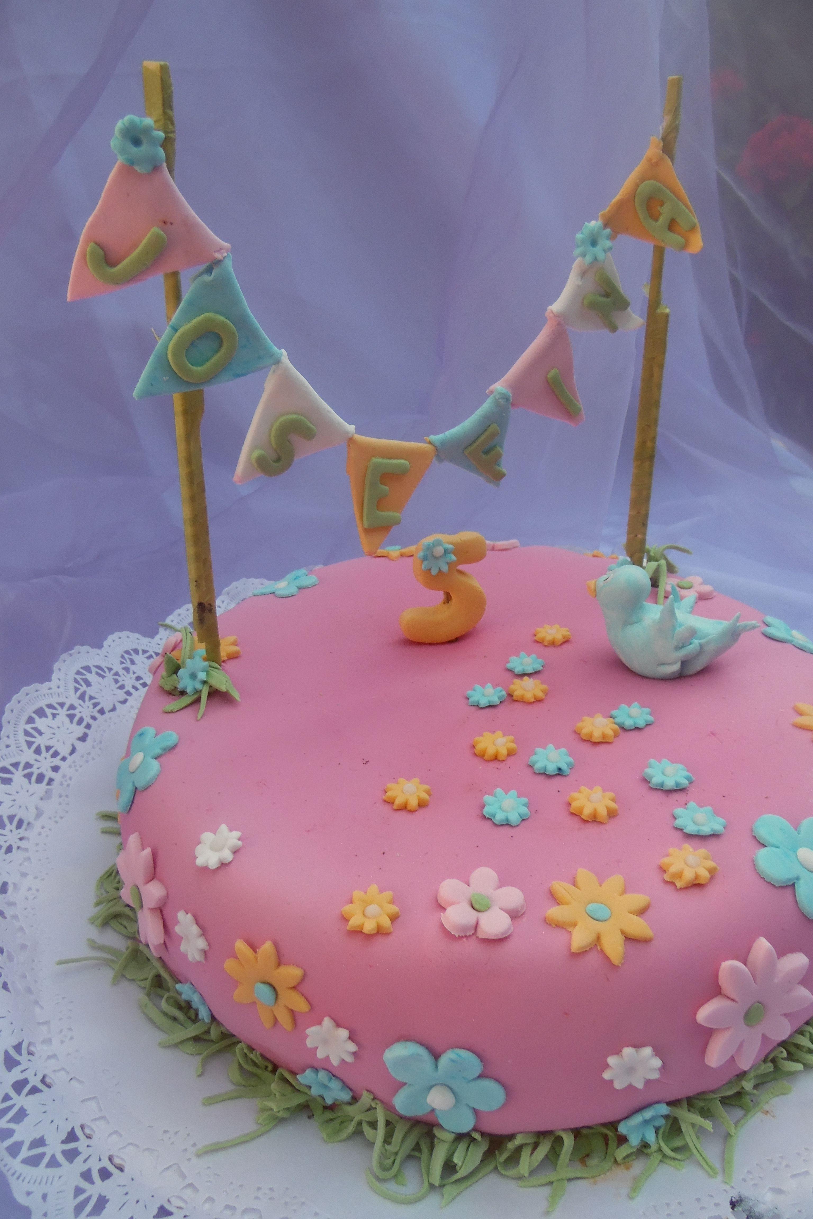 Torta Para Niña 5 Años Cake Birthday Cake Desserts