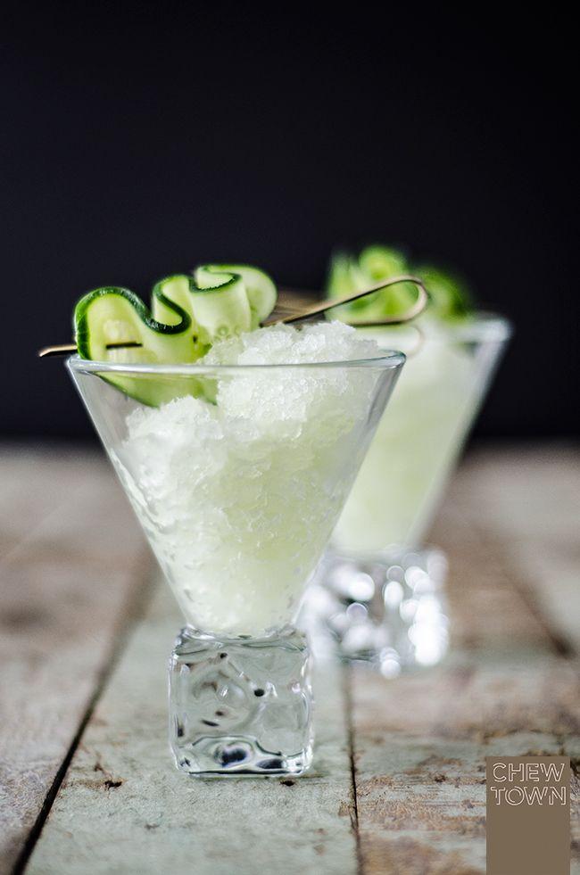 Gin and Tonic Granita | Chew Town Food Blog