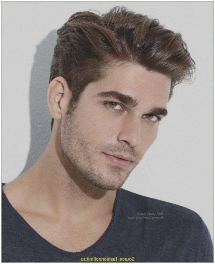 Neuesten Frisur Oben Lang Seite Kurz Frisuren Männer Seiten Beliebte