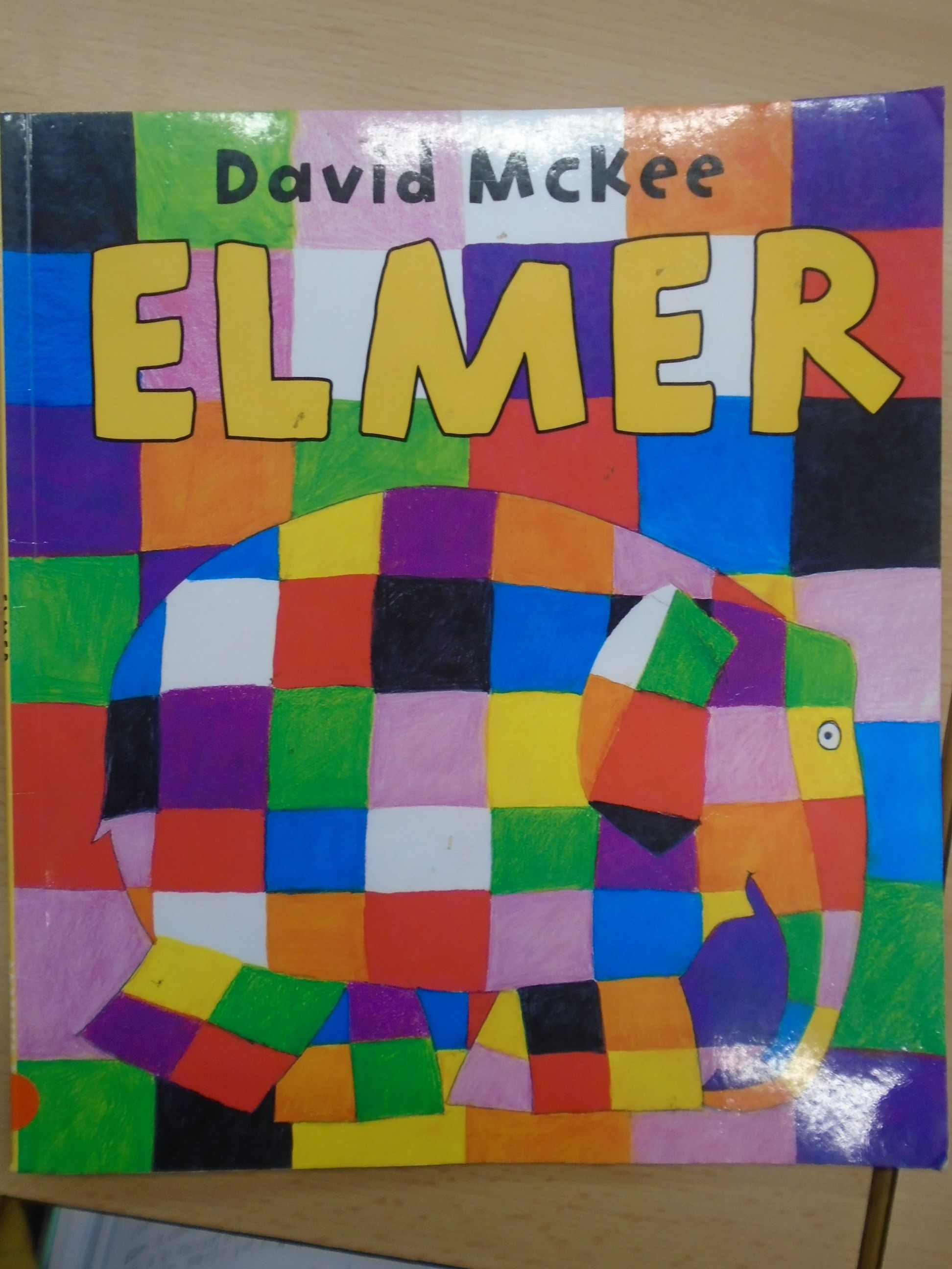 Recommendation Elmer Title Elmer Author David Mckee