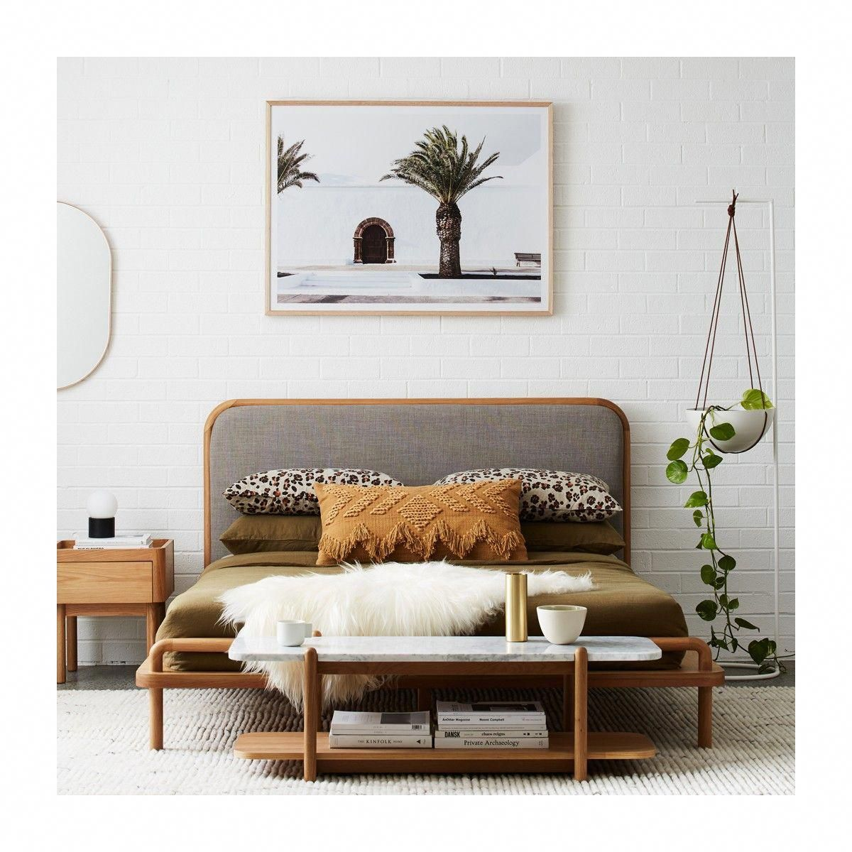 Life interiors norah king bed oak modern beds buy your furniture online or in store buyfurnitureonline