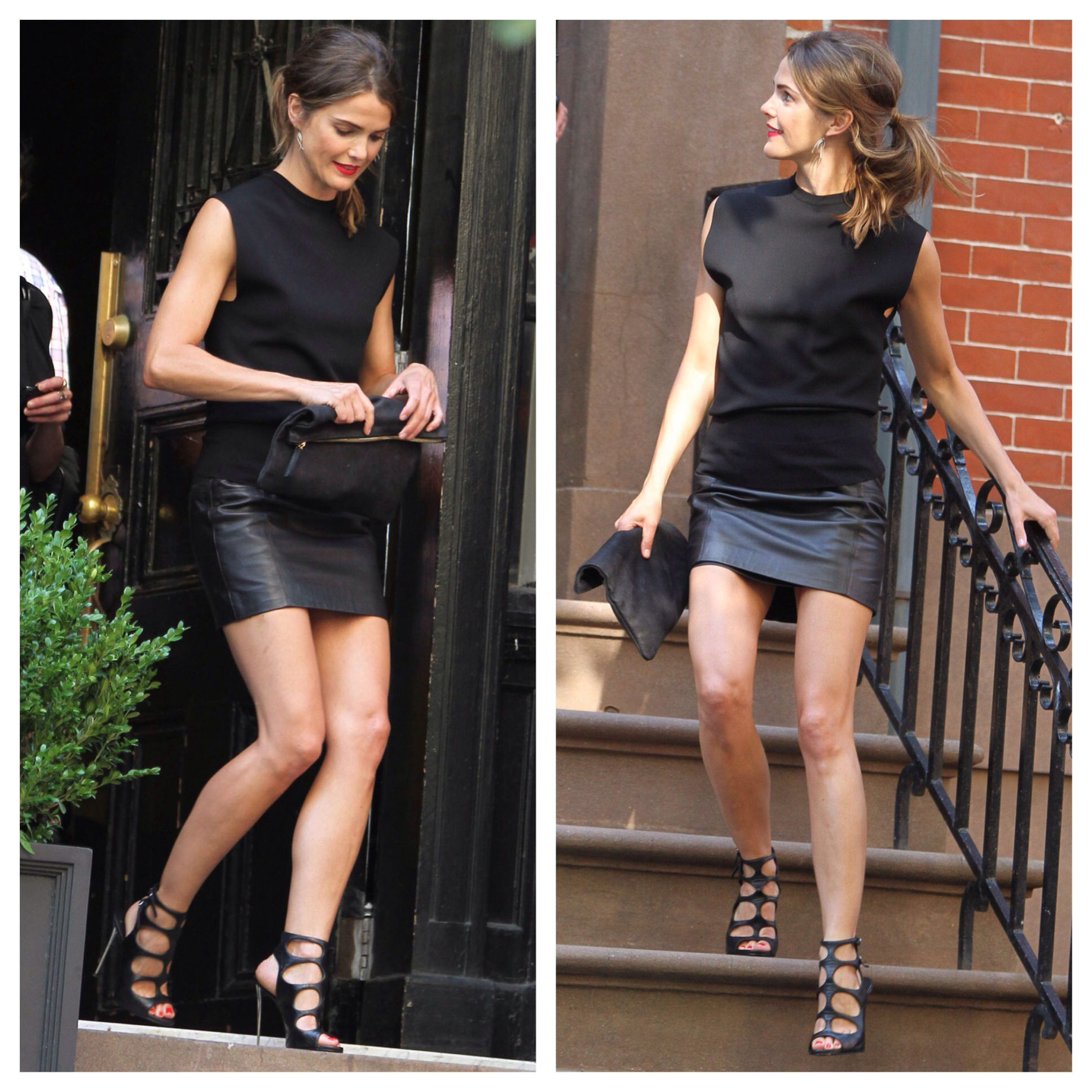 Keri Russell Such a hot look, but I would have nowhere to wear it.