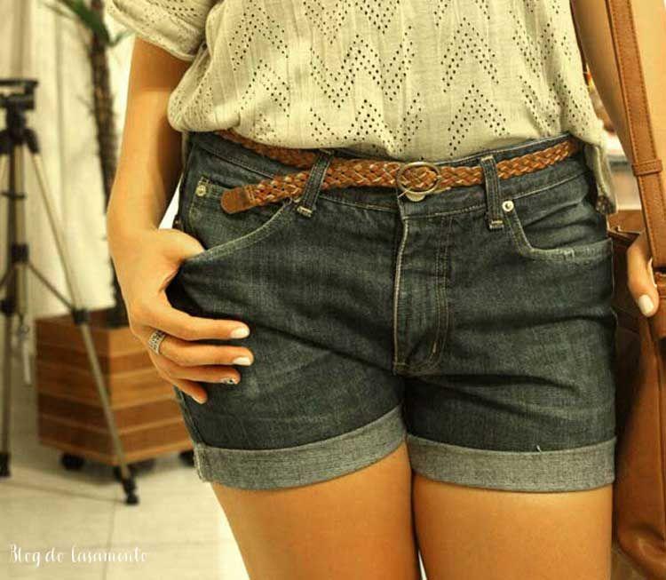 Como fazer um shorts boyfriend com a calça do namorado http://www.blogdocasamento.com.br/como-fazer-um-shorts-boyfriend-calca-namorado/