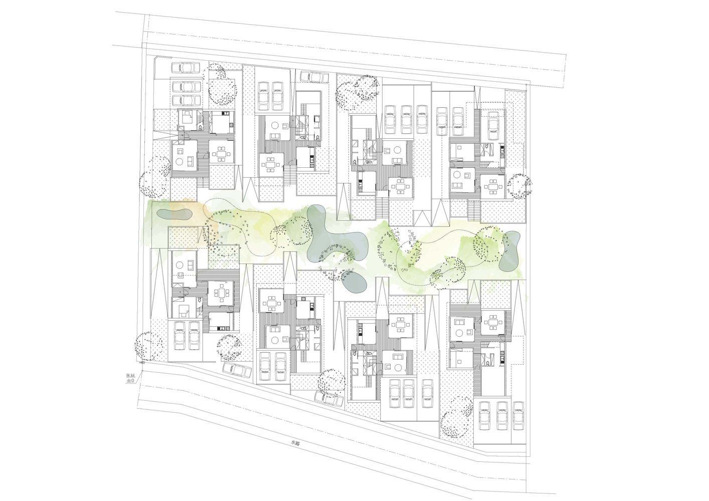 Gallery Of In Gawa Community Housing Proposal Index
