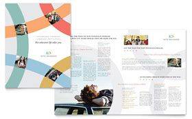Car Insurance Company  Brochure Template  Design Inspo