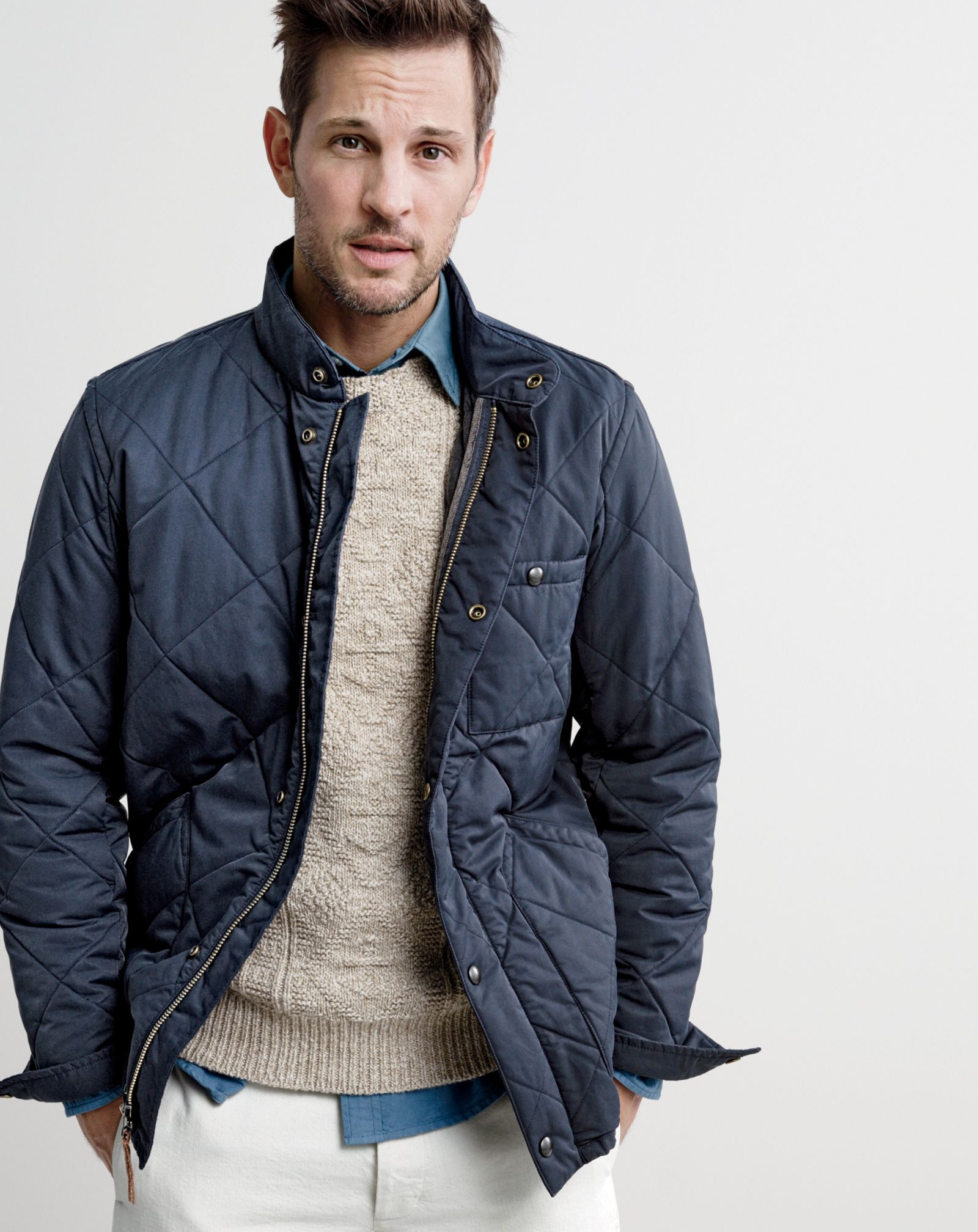 8900764fa33a J.Crew men s Sussex quilted jacket