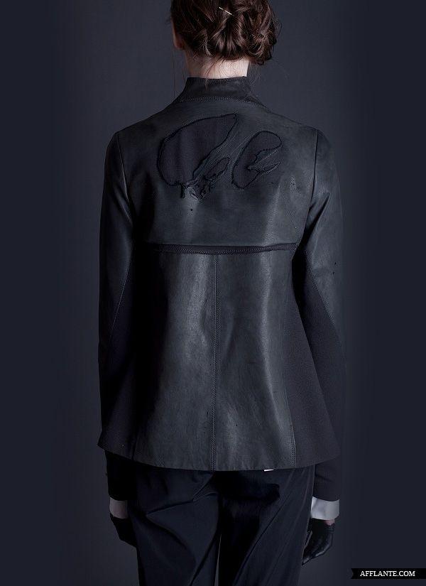 '…Not Here' FW'2012 Fashion Collection // Elena Burenina | Afflante.com