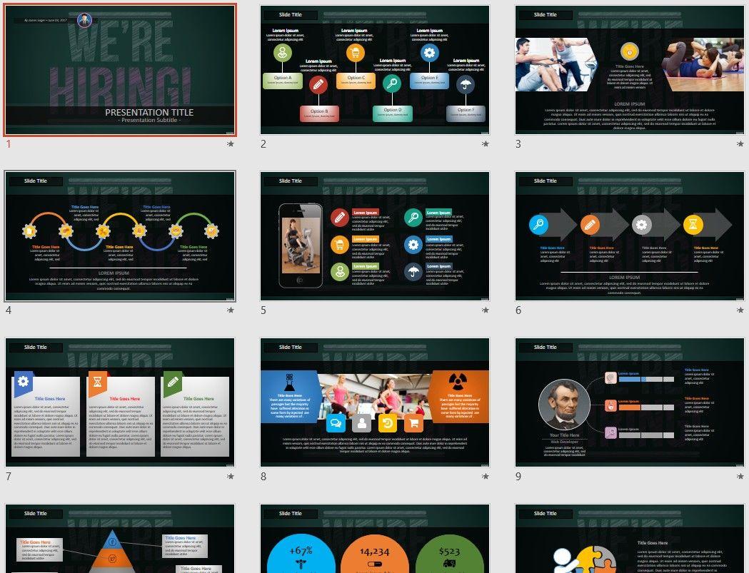 We Re Hiring Powerpoint Free Powerpoint Templates Powerpoint Free Powerpoint Templates Powerpoint