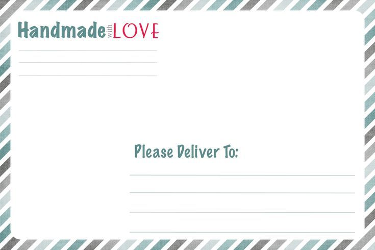 Try These Free and Stylish Address Templates Free Shipping Labels