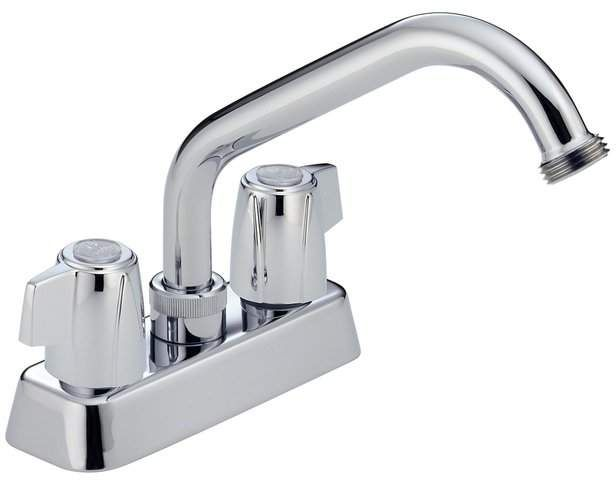 Other Core Centerset Laundry Faucet With Hose Thread Spout
