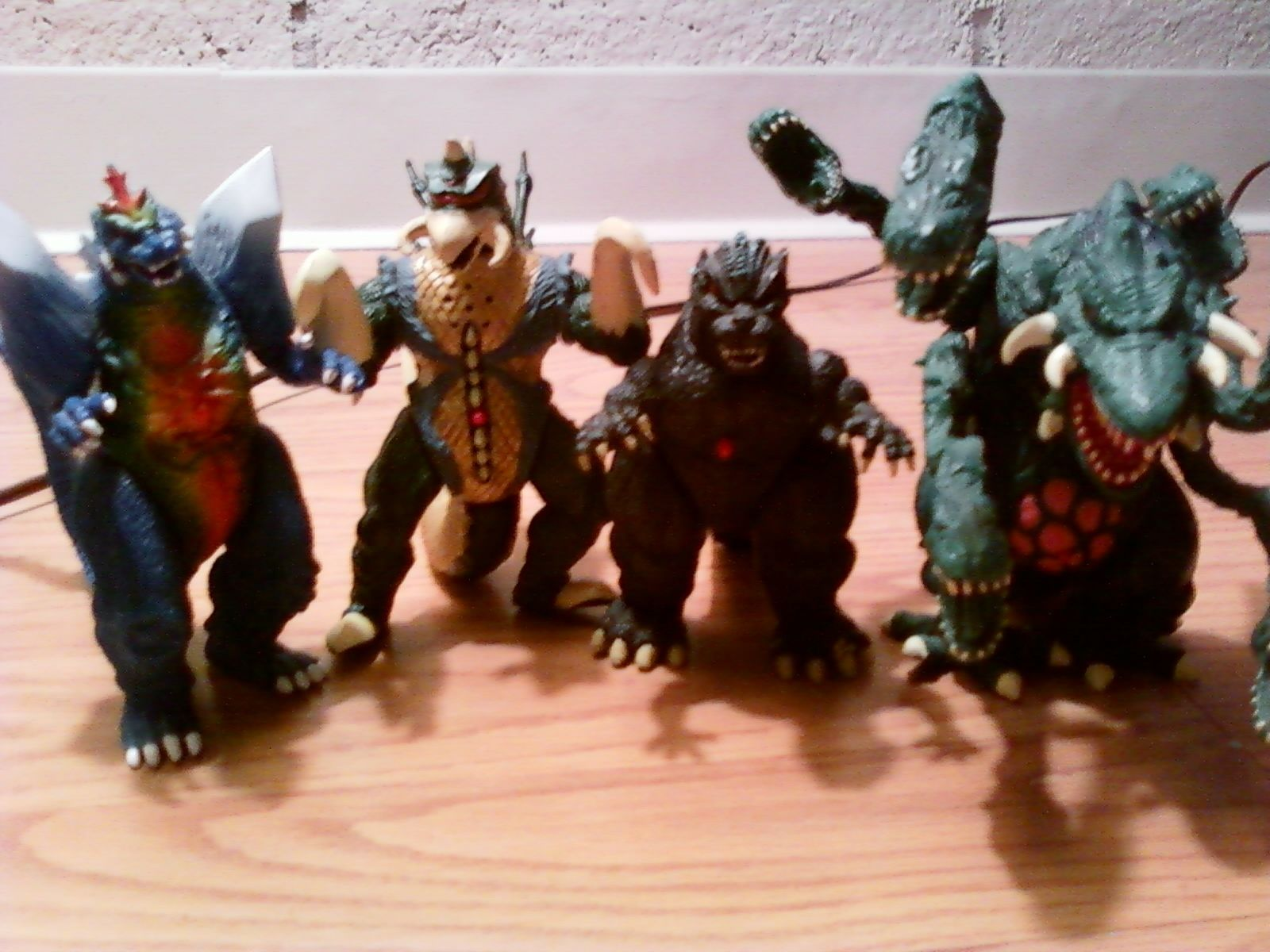 Godzilla Wars action figures with sound! Lot of 4 ...