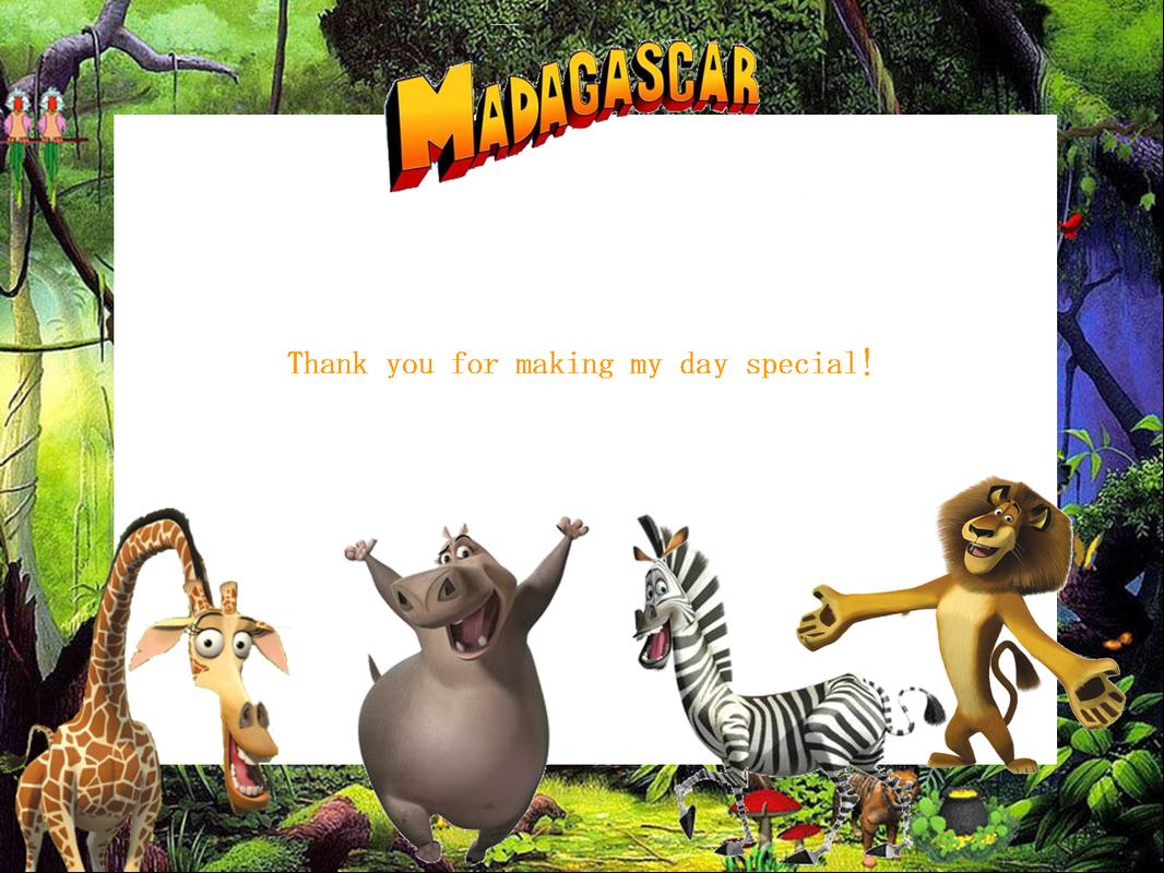 http://www.creativeprintables.org/free-madagascar-party-ideas.html ...