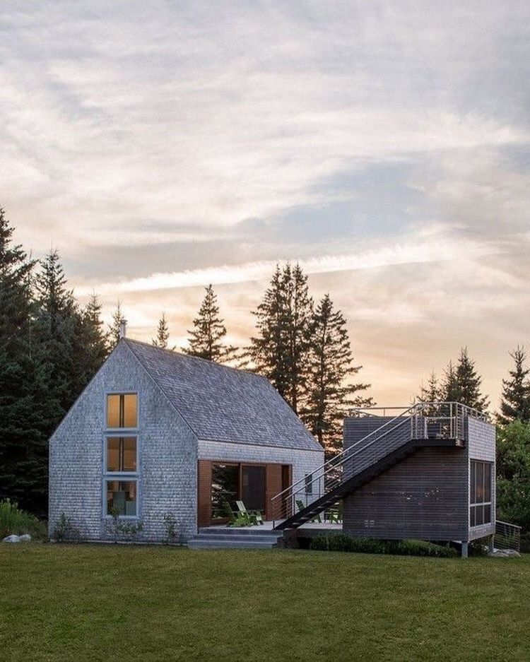 Cranberry isles house 790 ft2 maine by elliott