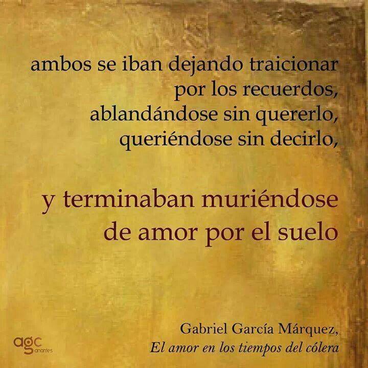 El Amor En Los Tiempos Del Colera Ana Pinterest Gabriel Garcia