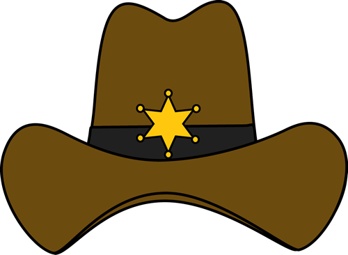 sheriff cowboy hat texas pinterest sheriff cowboys and clip art rh pinterest co uk cowgirl hat and boots clipart cowgirl hat clipart free