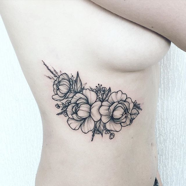 image result for interest tattoo fleur hibiscus | one day, maybe