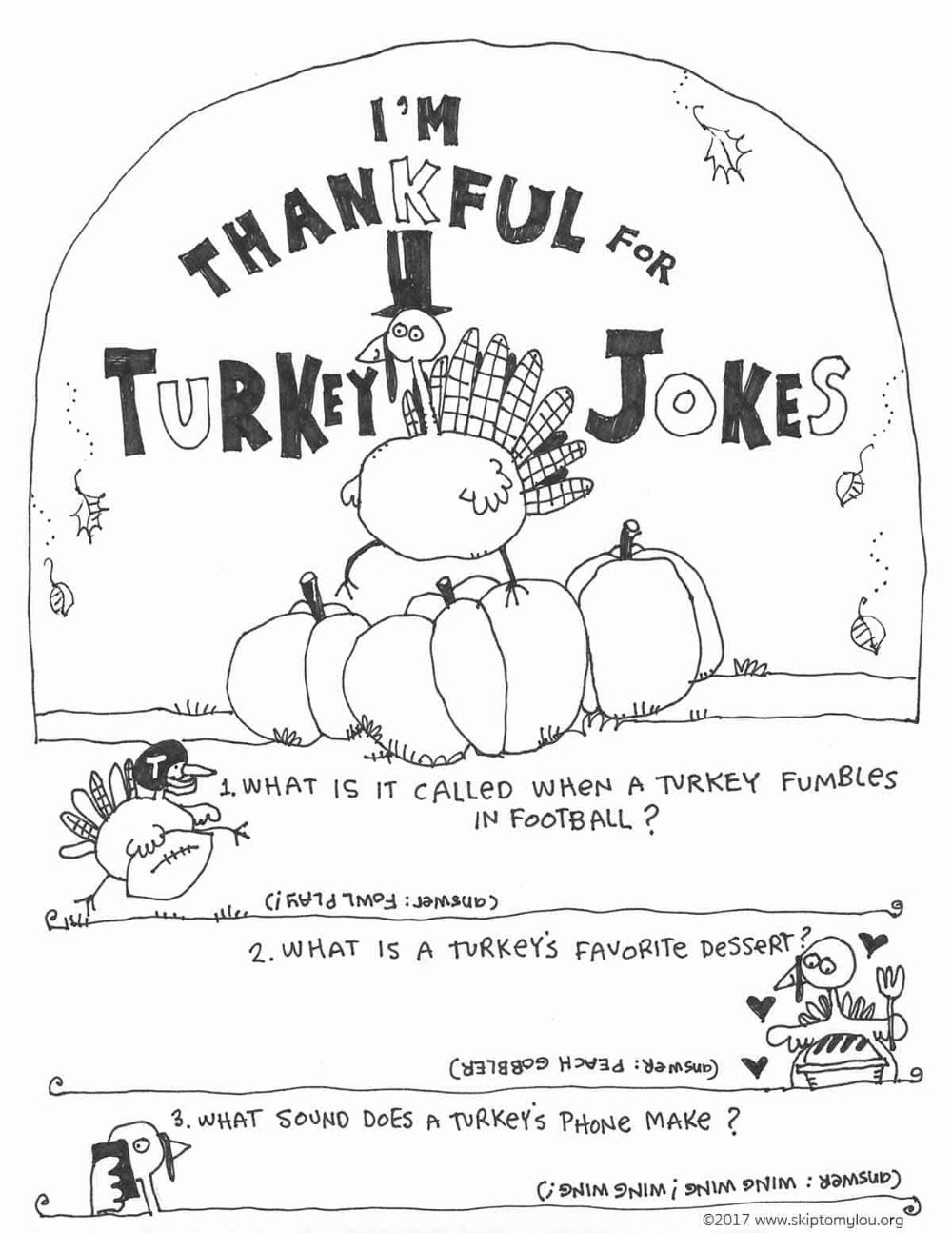 Thanksgiving Coloring Pages In 2020 Thanksgiving Coloring Pages Thanksgiving Jokes For Kids Turkey Jokes [ 1294 x 1000 Pixel ]