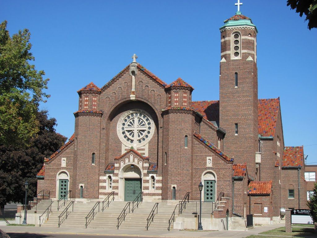 St Andrew S Catholic Church St Paul Mn Church Building