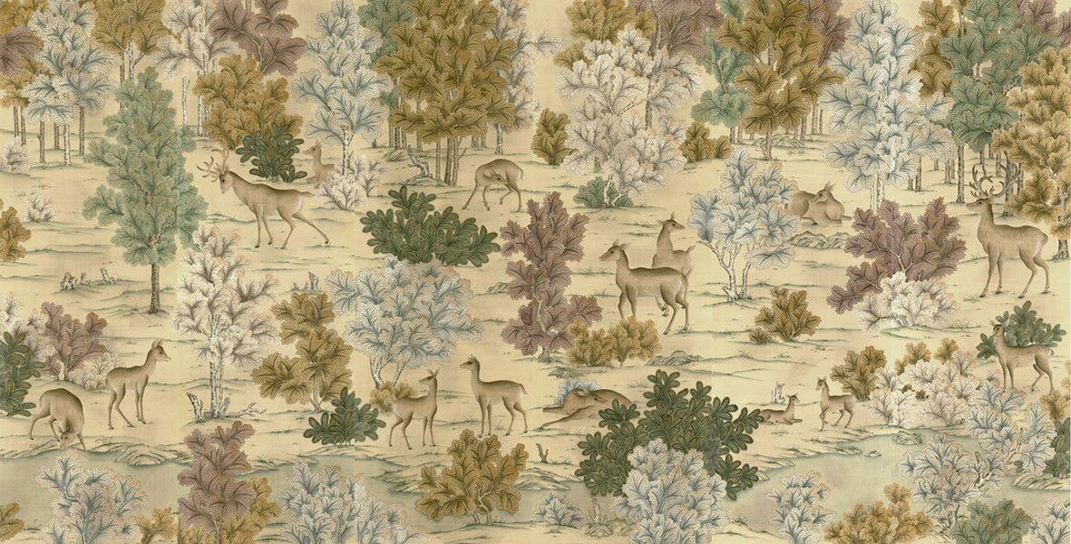 Yrmural - Hand painted wallpaper,Chinoiserie wallpaper,Silk ...