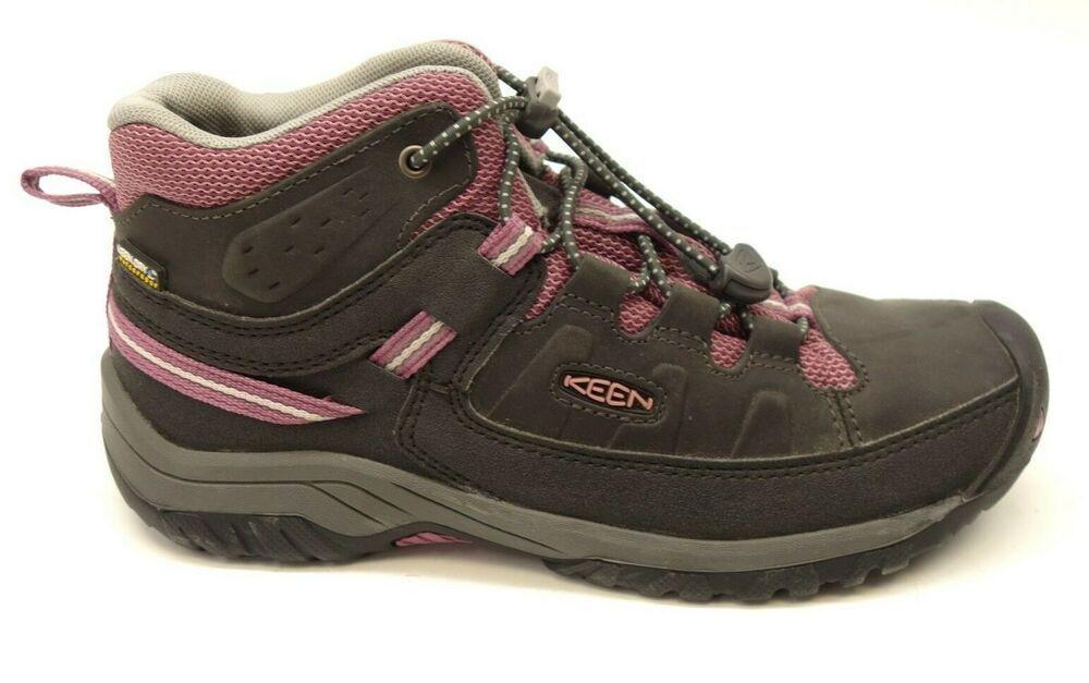 43768975daa6 New Keen Girls Youth Kids Targhee Waterproof Hiking Boots Athletic Shoes  Size 4  KEEN  HikingTrail  WalkingHiking