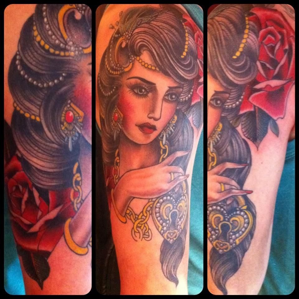 Tattoo by Claudia De Sabe