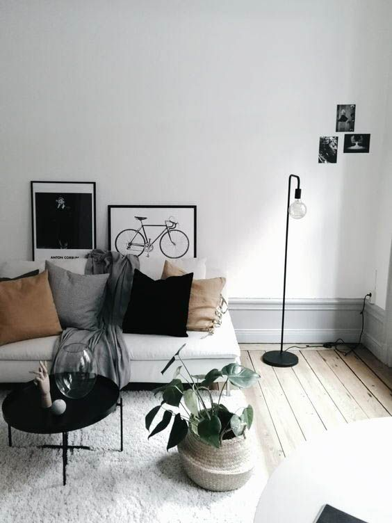 15 Dreamy Minimal Interiors From Luxe With Love Apartment Living Room Design Living Room Designs Apartment Living Room