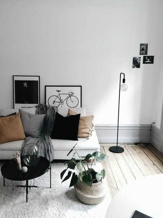 10 Minimalist Living Rooms To Make You Swoon Minimalist Living Room Living Room Designs Living Room Scandinavian
