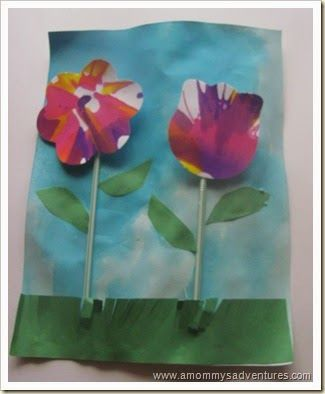 3d bloemen