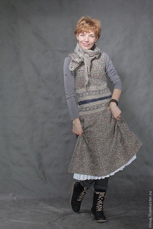 валяные платья в стиле бохо