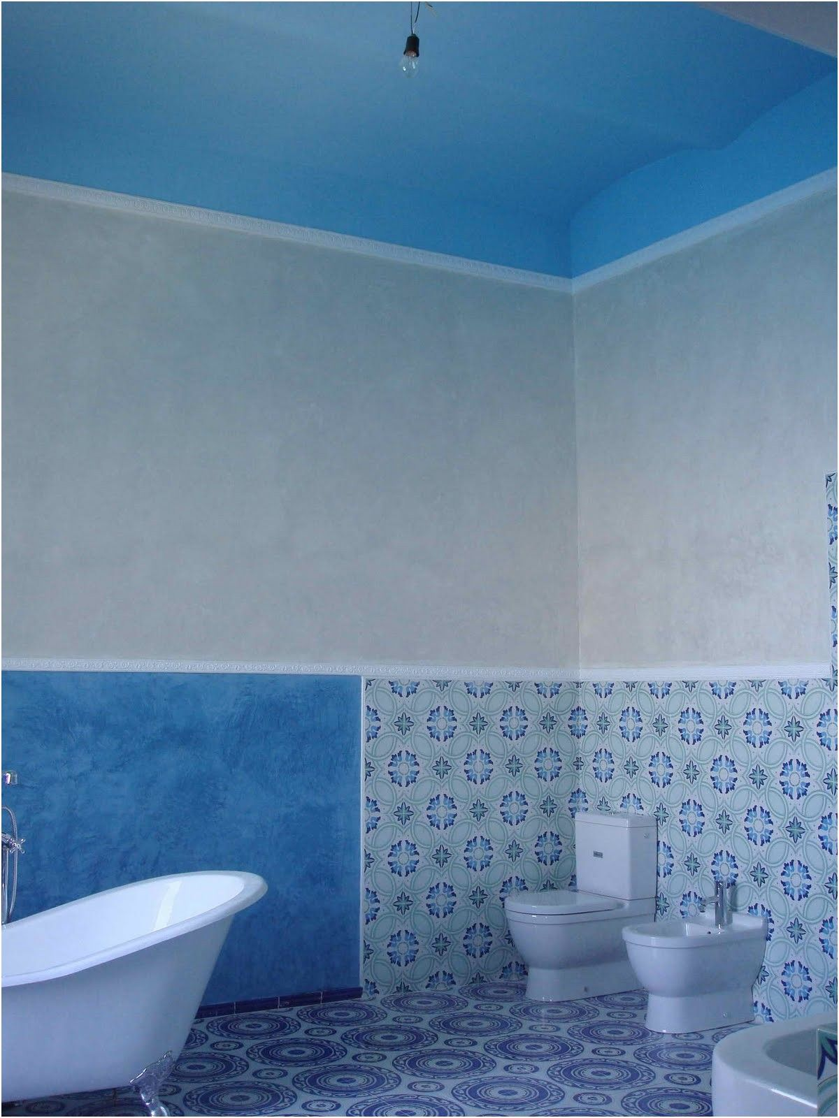 bathroom tiles blue colour ceramic for home from Bathroom Tiles Blue ...