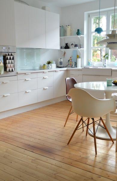 Küche Küchenabendeinblick bei Schmasonnen Küche Pinterest - schöner wohnen kleine küchen