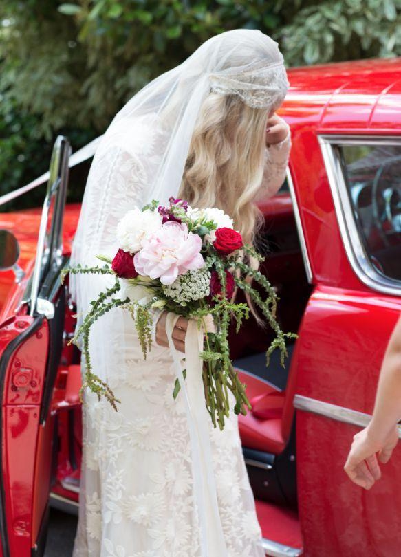 Stunning bride in #RueDeSeine #ChloeGown I Photography: Madeline Chiller http://mchiller.com