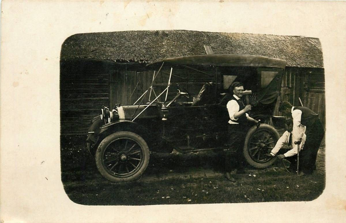Model T Ford Forum: Tire repair, removing the tire from rim-early ...