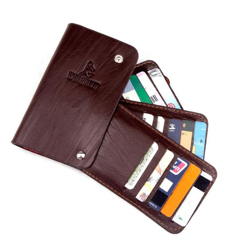 30 Business Card Holders Wallet For Men Women Top Quality Leather ...