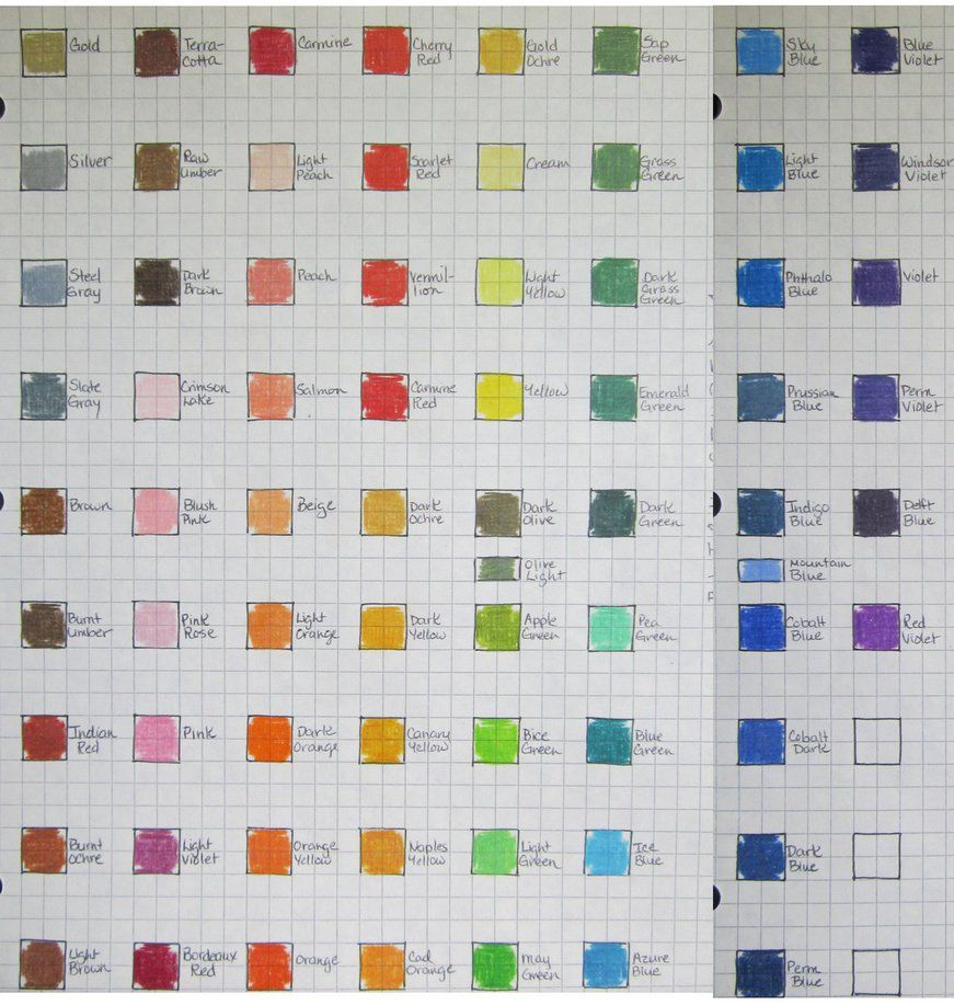Blick studio color chart by josephine9606 on deviantart color blick studio color chart by josephine9606 on deviantart nvjuhfo Image collections