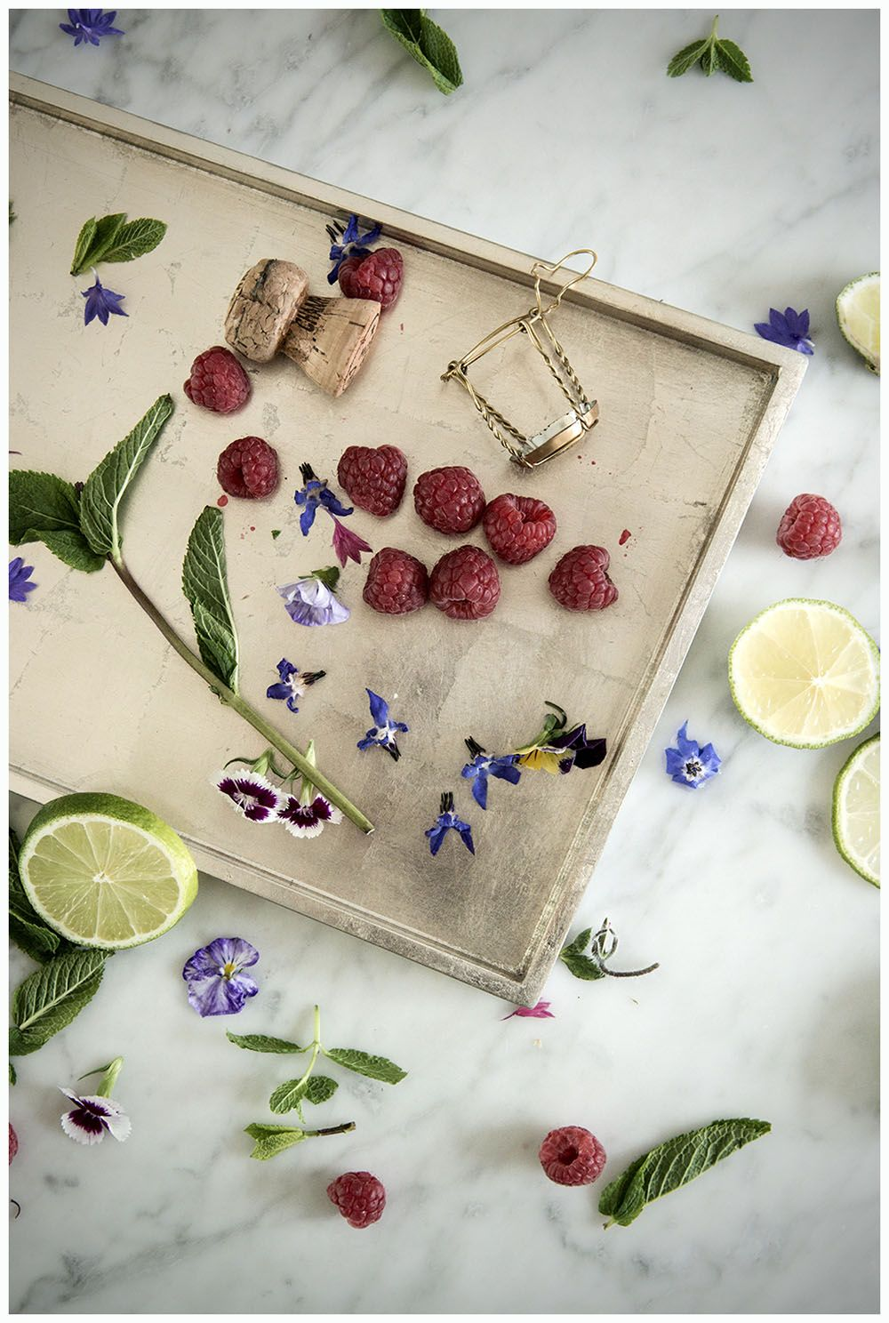 Flowers & Limes...