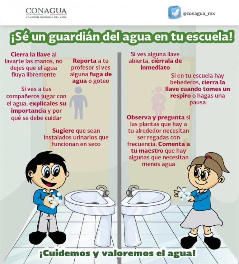 Escuela Cuidado Del Agua Ciclo Del Agua Agua