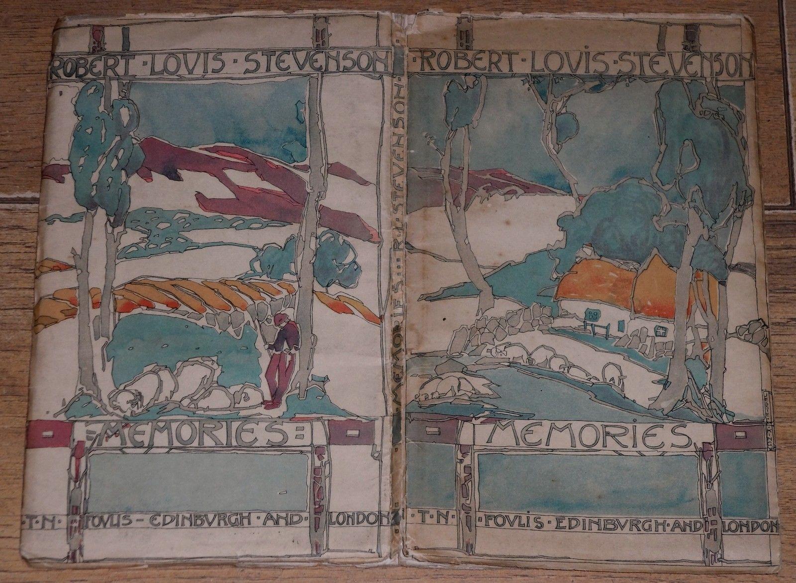 1st Edition 1919 Jessie King Art Nouveau Glasgow School Memories Foulis | eBay
