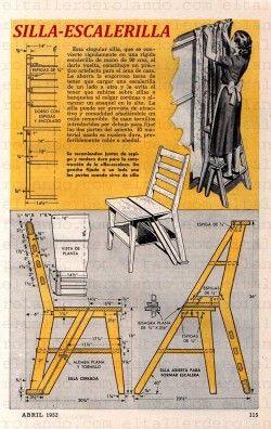 silla que se transforma en escalera buscar con google On silla que se transforma en escalera