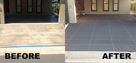 Concrete Resurfacing Before And After In 2019 Concrete
