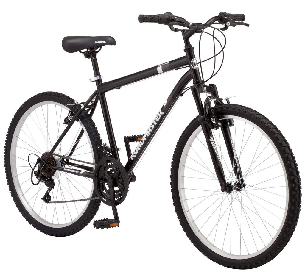 Roadmaster Granite Peak Men 8217 S Mountain Bike 26 Inch Wheels Black In 2020 Mens Mountain Bike Shimano Bike Man Bike