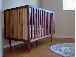 Gorgeous Mid Century Modern Crib By Furniture Pete
