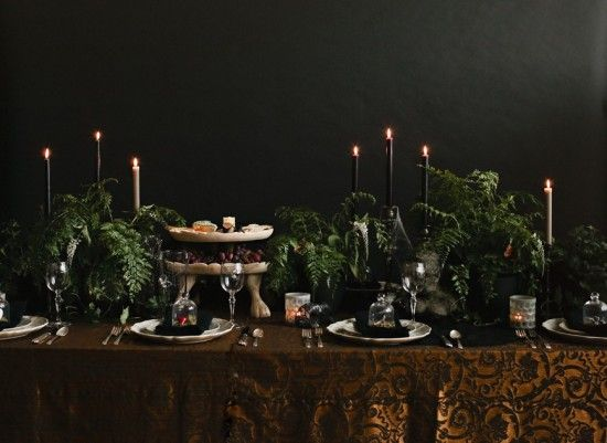 Host A Halloween Dinner Party Halloween dinner parties, Tabletop - halloween decoration themes