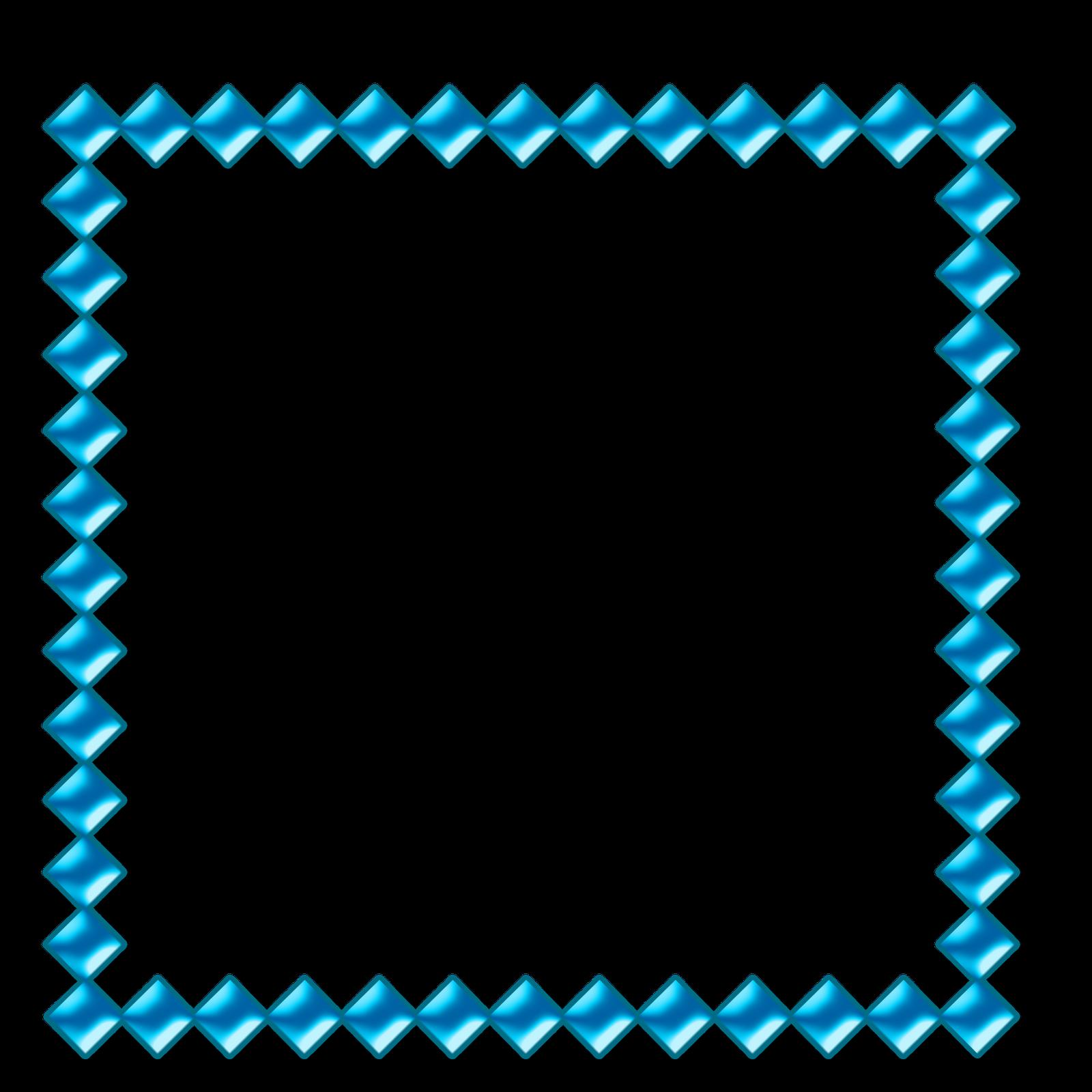 Blue frame png bordas png fundo transparente imagens para photoshop borders pinterest - Marcos transparentes ...